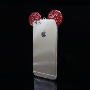 Diamond Mickey Ears TPU Case Cell Phone Cases for iPhone pictures & photos