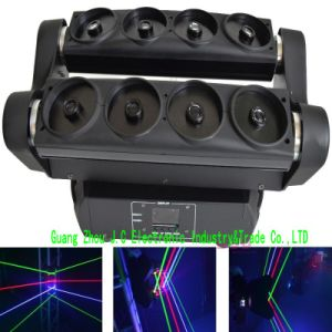 8eyes RGB Moving Head Spider Laser Light pictures & photos