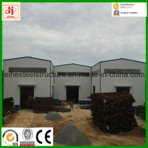 Customized Low Cost Prefab Steel Structure Metal Workshops Large Workshop pictures & photos