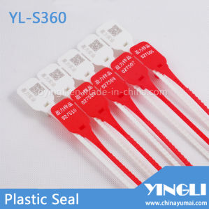 Transportation Plastic Security Seal with Laser Printing (YL-S360) pictures & photos