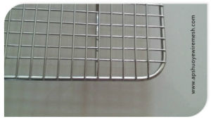 Nonstick Stainless Steel Mesh Bread Cookies Cooling Shelf pictures & photos