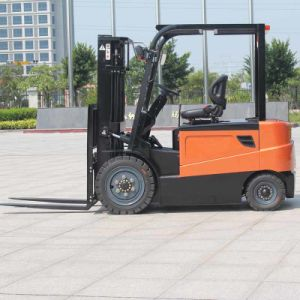 Lead Acid Battery Operated 3t Heavy Duty Electric Forklift (CPD30) pictures & photos