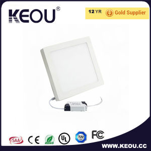 Cool White 6000k Indoor LED Ceiling Panel 18W 8inch Factory/Manufacturer pictures & photos