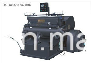Ml-1200 Creasing and Die Cutting Machine for Carton Box/Pizza Box/Corrugated Box Cutting pictures & photos