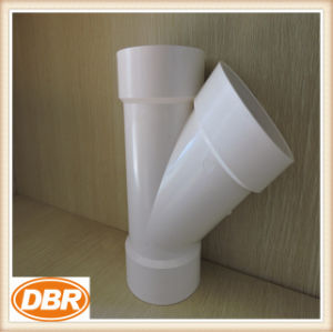 1.5 Inch Size Wye Type PVC Fitting pictures & photos