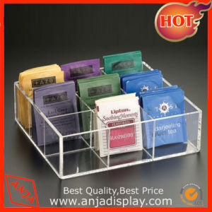 Acrylic Makeup Box Acrylic Cosmetic Display Tray pictures & photos