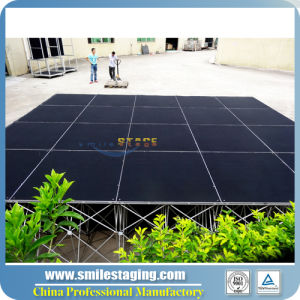 Portable Aluminum Stage for Wedding/Trade Show/Catwalk/DJ Stage pictures & photos