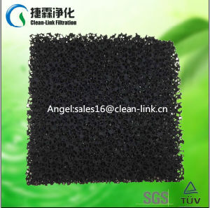 Activated Carbon Filter Foam 10ppi/15ppi/20ppi pictures & photos
