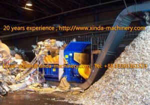 Single Shaft Plastic Shredder Machinery pictures & photos