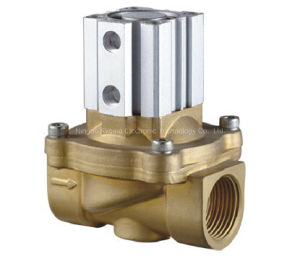 2q Series 2 Way Brass Material Solenoid Valve pictures & photos