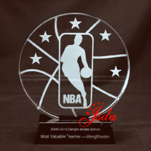 NBA Crystal Glass Trophy Craft for Basketball pictures & photos