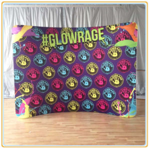 Textile Printing Backdrop Display pictures & photos