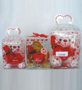 Custom Christmas gift packing box (clear plastic box) pictures & photos
