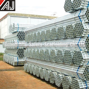 Galvanized Scaffolding Steel Tube for Masonry, Factory in Guangzhou pictures & photos