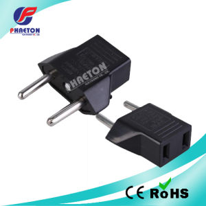 2 Pin Round AC Travel Adaptor Converter Plug pictures & photos