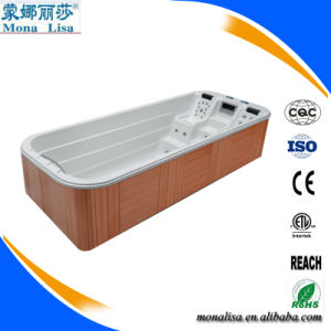 Large Luxury Hydro Aqua SPA Jet Whirlpool Massage Fibreglass Swimming Pool (M-3350) pictures & photos