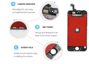 LCD /High Quality LCD for iPhone 5 pictures & photos