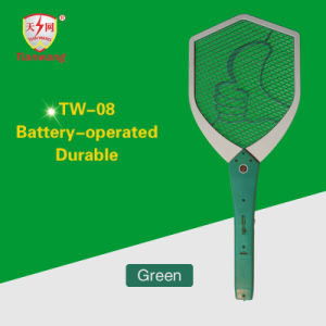 High Voltage High Quality Electric Fly Swatter with Cleaning Brush pictures & photos