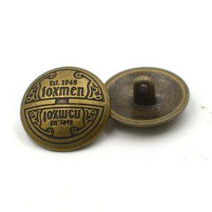 High Quality Vintage Metal Zinc Alloy Shank Button pictures & photos