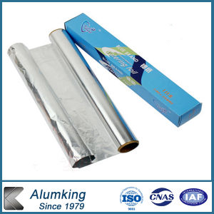 One Side Bright Aluminum Foil for Household pictures & photos