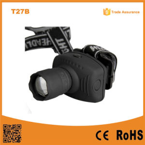 T27b LED Headlight 120lumens LED Zoomable Headlamp pictures & photos