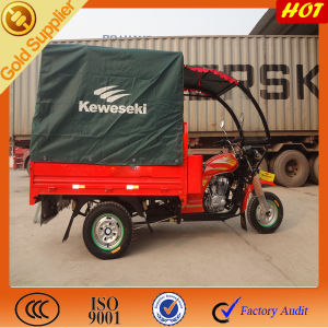 Grass Semi Cabin & Canopy Three Wheelerd Motorized Cargo pictures & photos