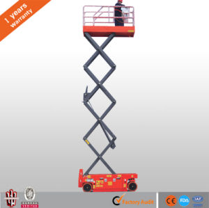 Ce High Quality Working Platform Self-Propelled Electric Scissor Lift pictures & photos