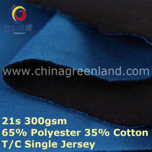 65/35 Polyester Cotton Knitted Jersey Fabric for Breathable Shirt (GLLML404) pictures & photos