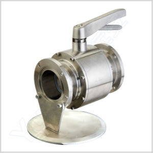 Yuanan Sanitary Manual Stainless Steel Ball Valve (YAQ-2) pictures & photos