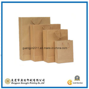 Simple Kraft Paper Packaging Bag (GJ-Bag426) pictures & photos
