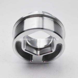 CNC Machining of Industrial Spare Part (aluminum cover) pictures & photos
