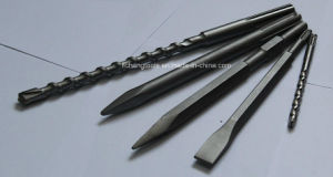 Flat and Point Chisel Match with Rotary Hammer Drill Used for Drilling Concrete pictures & photos