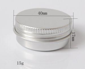 15g Aluminum Jar with Screw Lid pictures & photos
