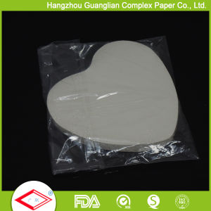 OEM Size Heart Shape Pan Liners Non-Stick Baking Paper pictures & photos