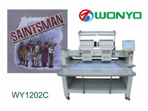 Two Head Best Sale for Best Design Embroidery Machine pictures & photos