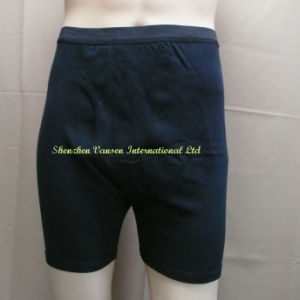 Black Men′s Underwear/Boxer Brief by China Factory (V3205) pictures & photos