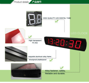 [Ganxin] Customizable Function LED Countdown Clock Digital Time Desk Clock pictures & photos