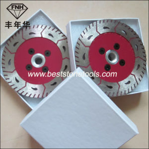 CB-17 Double Saw Blade with Flange Gct Flange Saw Blade (115-230mm) pictures & photos
