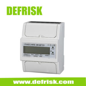 Single Phase DIN Rail Power Meter LCD Display, China Meter Manufacturers