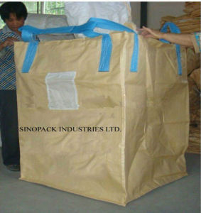 Bulk Bag (tubular) with Cross Corner Loops pictures & photos