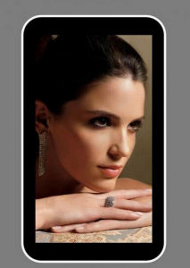 46′′android Wall Mount LCD Ad Player with Touch pictures & photos