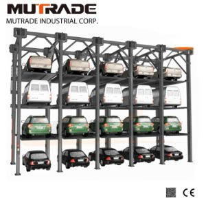 Mutrade 3/4 Levels Four Post Stacker Parking Elevator pictures & photos