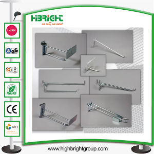 Double Wire Peg Board Hooks with Flippers pictures & photos