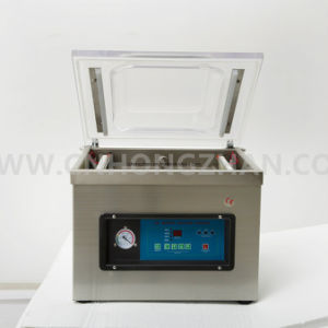 Automatic Plastic Bag Vacuum Machine with Single Chamber pictures & photos
