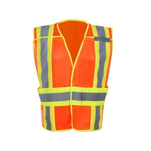 ANSI/Isea 107-2010 Hi-Viz Reflective Safety Vest