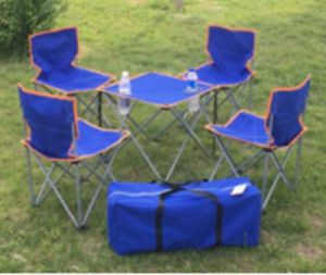 Camping Chair for Kids with 1 Table-- Flodable, Hand Carry pictures & photos