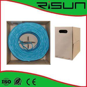UTP Cat5e LAN Cable with Flexible PVC Jacket pictures & photos