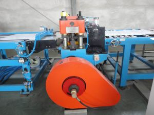 Normal Speed Tinplate Scroll Cutting Line with One Stacker
