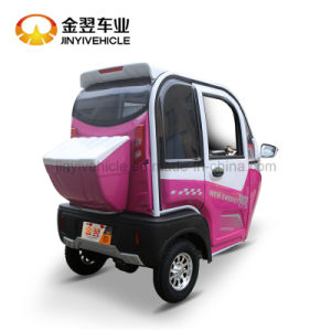 1000W 48V Electric Passenger Tricycle with Closed Body pictures & photos
