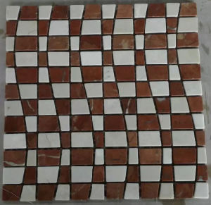 New Mosaic Tile Stone Marble Mosaic (HSM220) pictures & photos